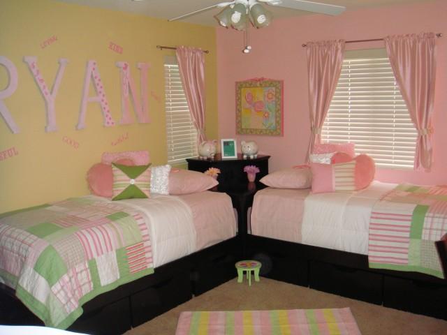 Interior Design Decorating Ideas Beautiful Twin Girl