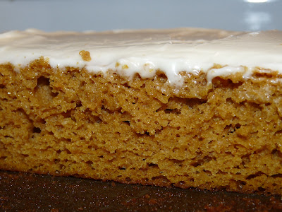 pumpkin cream cheese bar