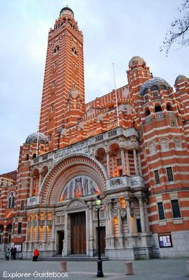 gereja terkenal di Inggris Westminster Cathedral