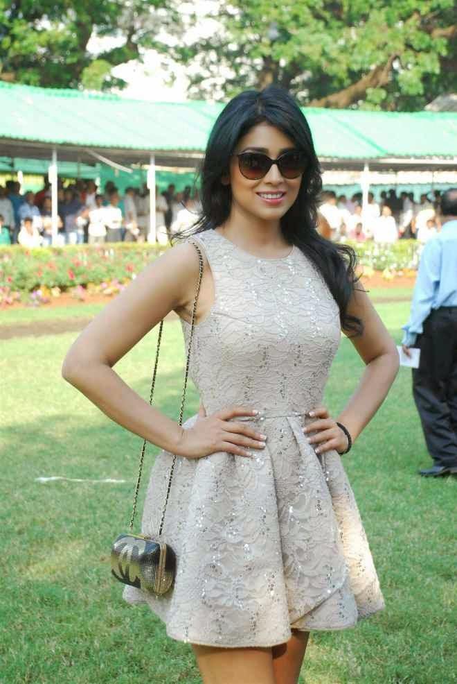 Shriya Saran Thigh Wallpapers In Hot Short Frock