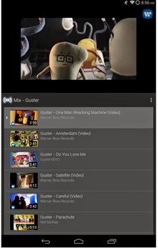 YouTube On Android now automatically generates playlists of your favorite artists