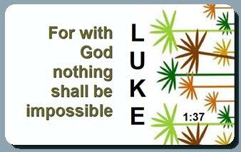 Luke 1:37 Card