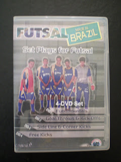 SET PLAYS FOR FUTSAL DVD