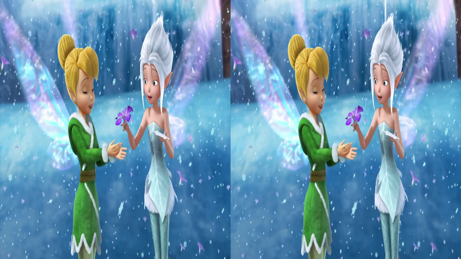 Tinkerbell Secret Of The Wings Wallpaper For Kids