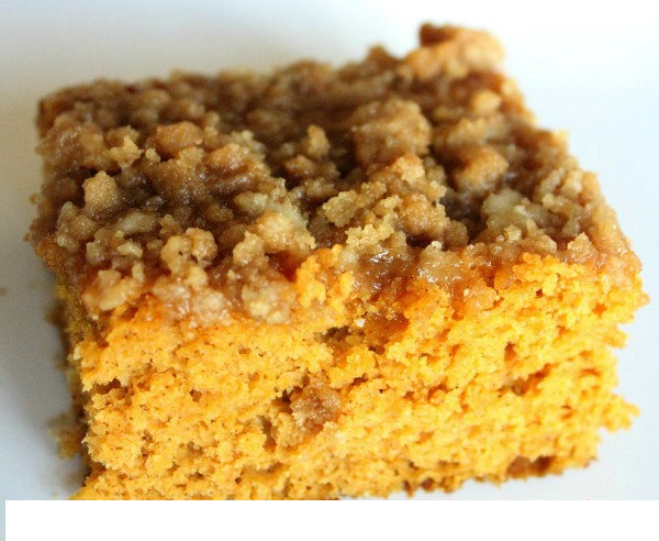 Yellow Cake Mix Coffee Cake Pumpkin