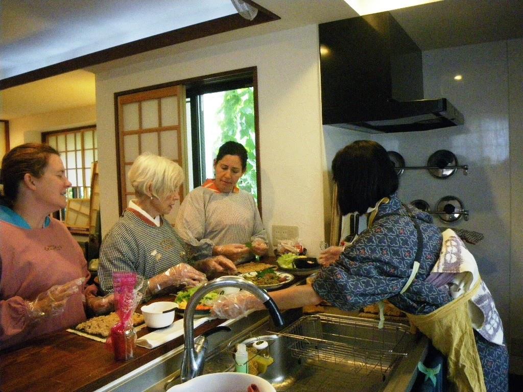 Sushi教室もできます