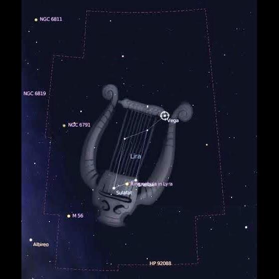 osservazione del cielo stellato a Milano: le Liridi visibili dal 15 al 28 aprile