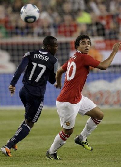 Fabio da Silva Man Utd Tour USA