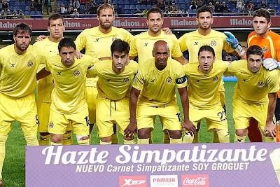 La Nómina del Villarreal de Segunda División