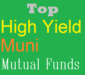 Top 15 High Yield Municipal Bond Mutual Funds 2014