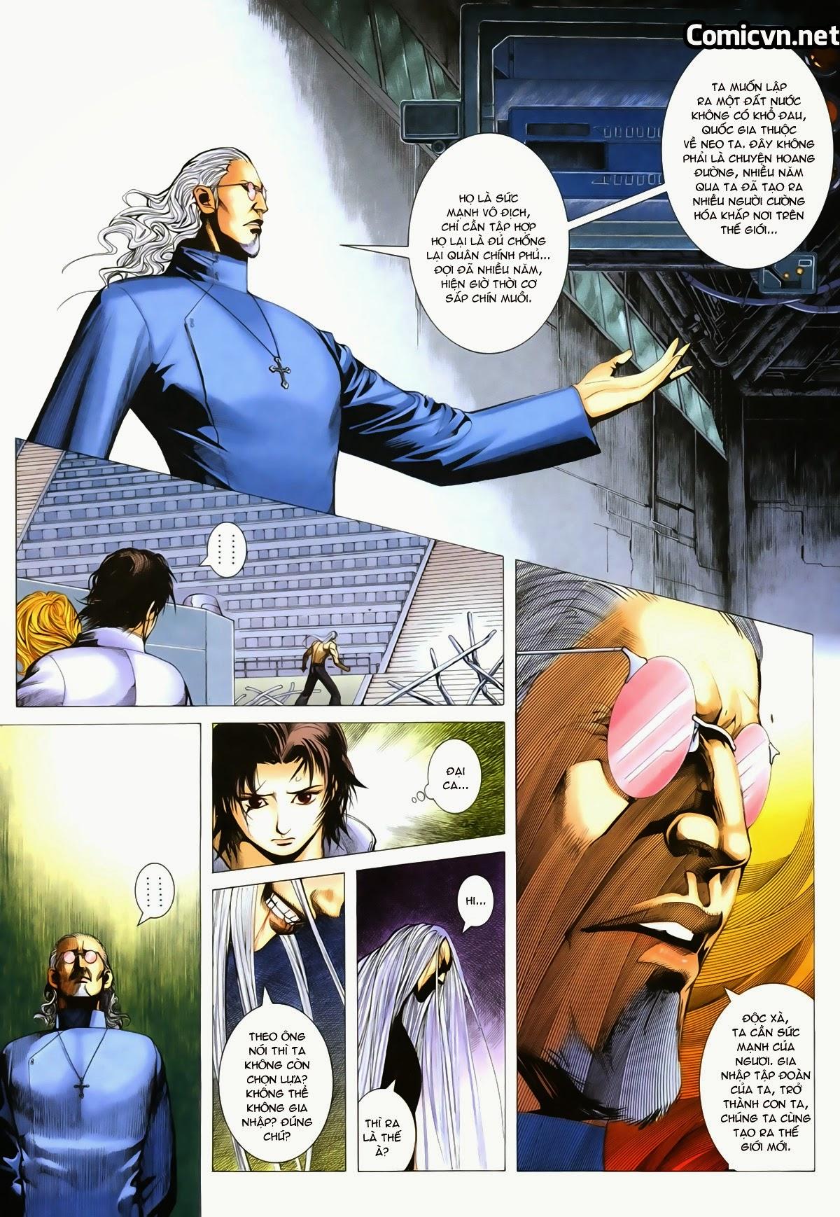 Tuyệt Địa Thiên Hành chap 8 Trang 5 - Mangak.info