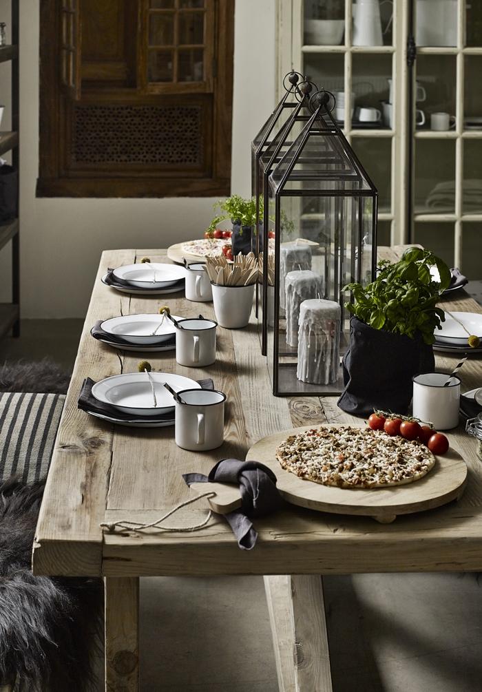 Svenng 229 rden inspirasjon rustikk og enkel borddekking