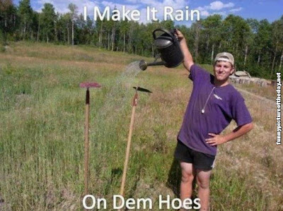 I Make It Rain On Dem Hoes Funny Farmer Guy Trolling