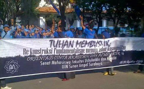 sanduk Tuhan membusuk UIN Surabaya