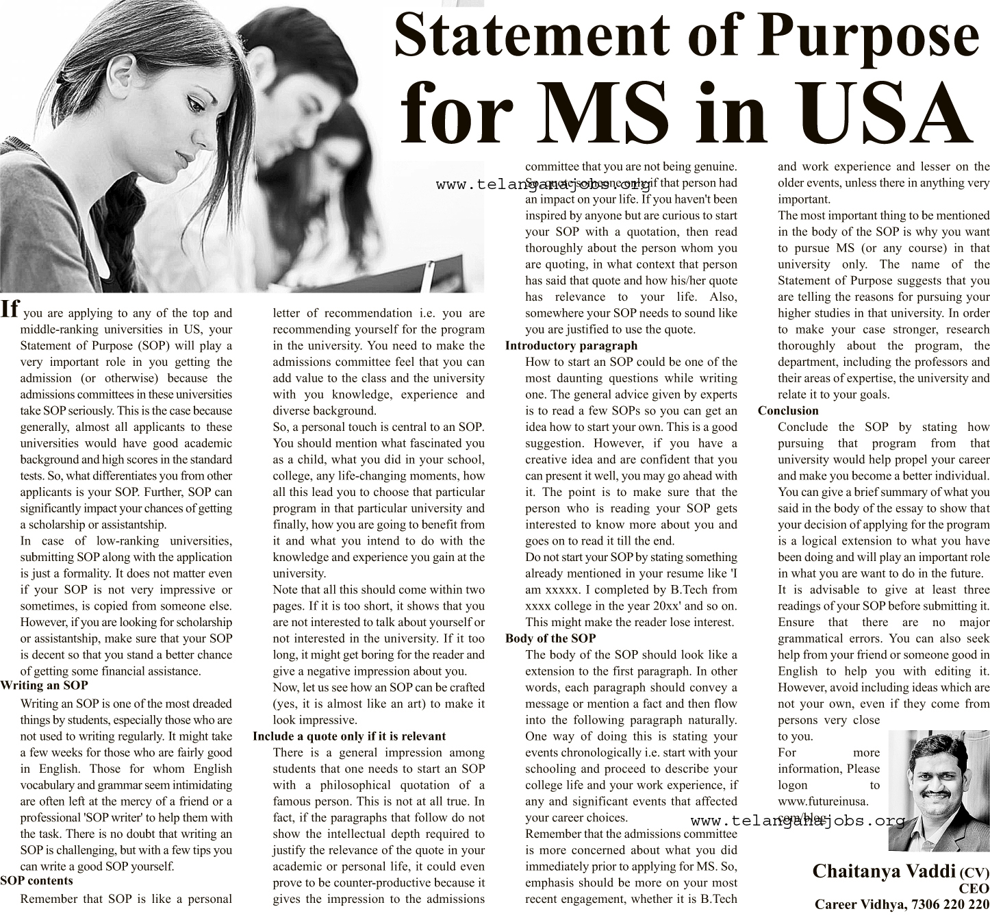 sop for ms in us This article will give you steps which will help you to write a very good sop for your us universities' applications statement of purpose is one of the most.