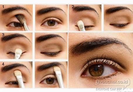 Tips dan Tutorial Memakai Eye Shadow Natural Agar Lebih Cantik