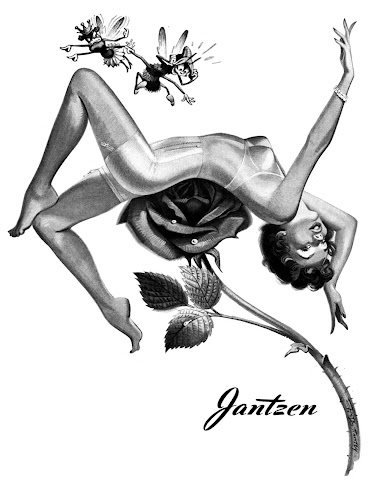 Jantzen pin up vintage ads