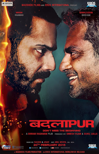 Badlapur (2015) Movie Poster No. 2