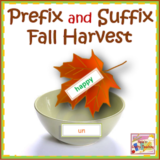 Prefix and Suffix Autumn Activities