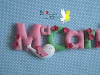 nombre-fieltro-decoración-infantil-personalizado-hechoamanoparati-elbosquedelulu