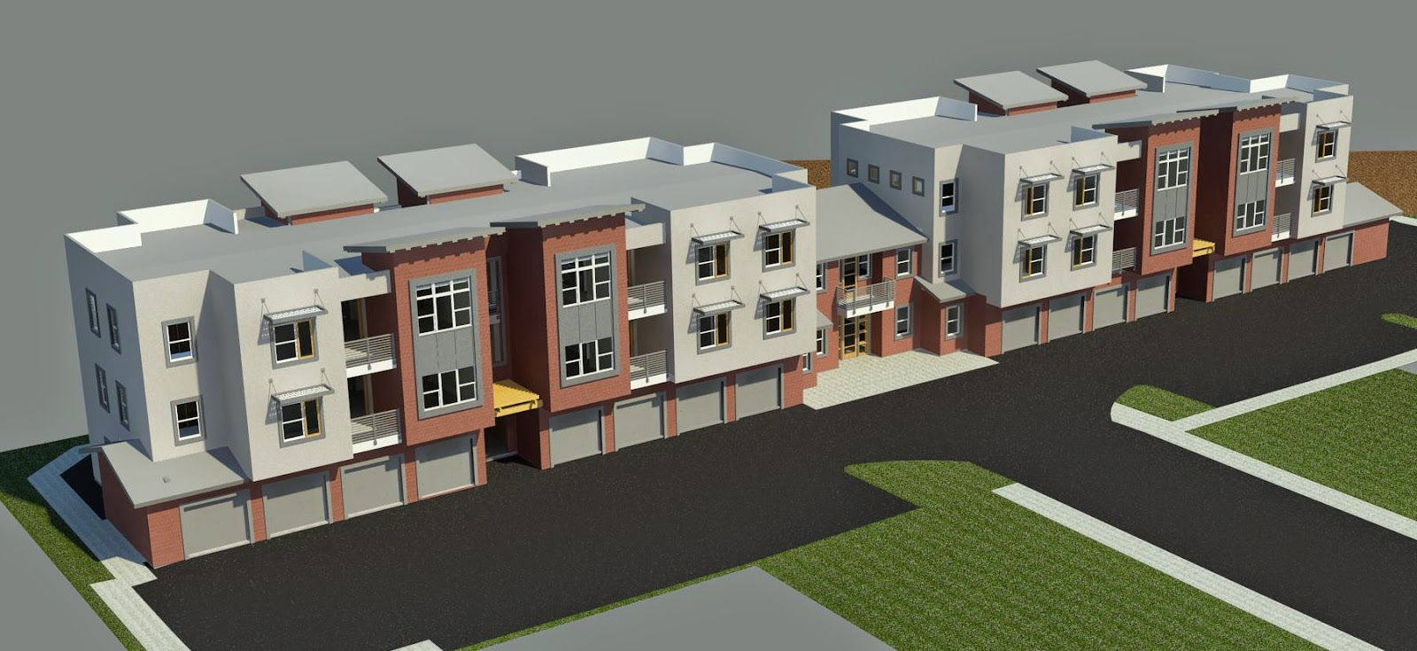 bim aficionado multi family housing concepts