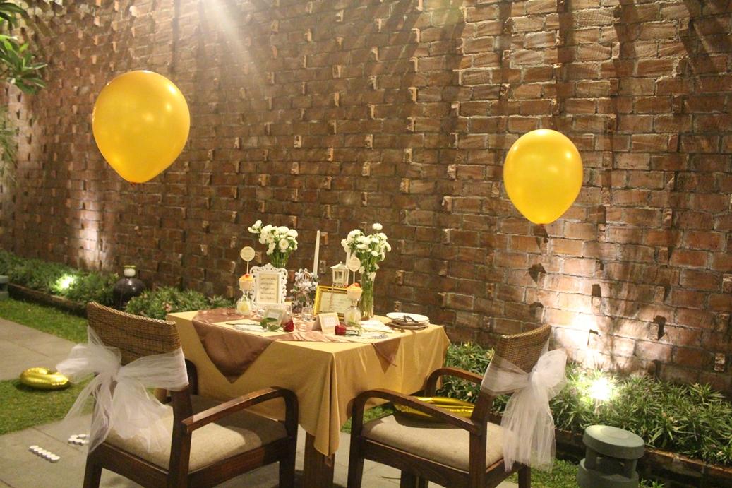 faldys birthday romantic dinner