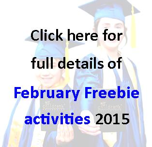 February Freebie 2015