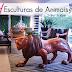 Esculturas de animais: panteras, cavalos, gatos... é tendência na decoração!