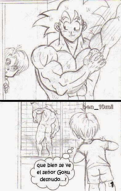 Goku gay con trunks de Xxx