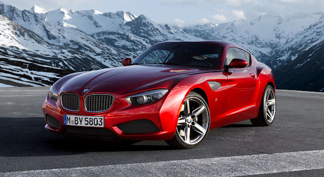 BMW Zagato Coupé front side