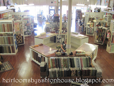 Heirlooms by Ashton House: August 2012 : country traditions quilt shop - Adamdwight.com
