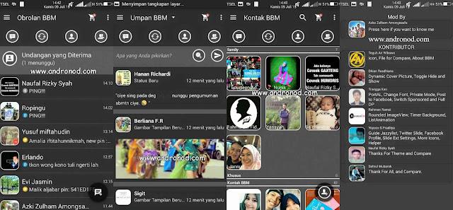 BBM Mod Elegant From Akeno v2.9.0.45 Apk