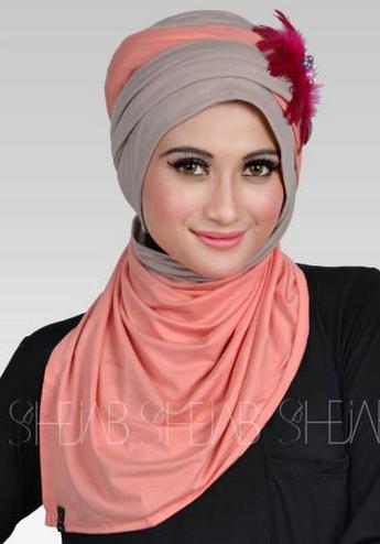 Inilah Model Hijab Modern Modis Terbaru 2016 image