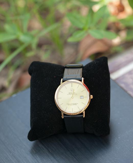 Đồng hồ nữ dây da Rolex đẹp Hà Nội
