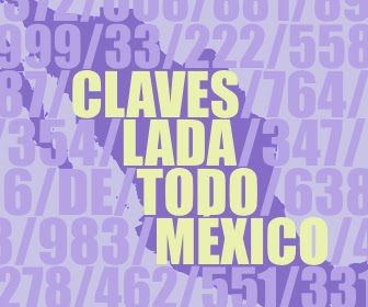 Claves LADA de todo México