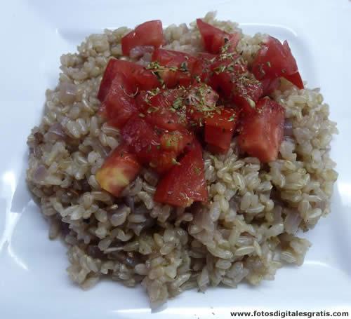 Naturista de coraz n comida natural y saludable risotto - Risotto arroz integral ...
