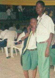 PHOTO: Wizkid In His Secondary School Days