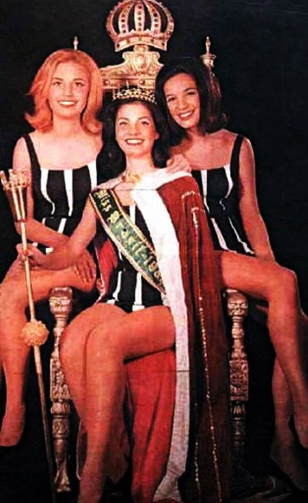 Top Tres Miss Universo Brasil 1963