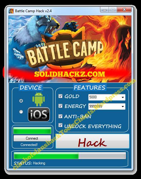 Battle Camp Hack Tool