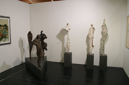 Allestimento Fiera d'Arte Contemporanea di Innsbruck dal 24 al 27 febbraio 2012-Galleria Gnaccarini