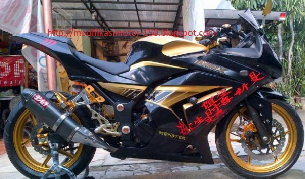Kawasaki Ninja 250R 2011 Full Modifikasi