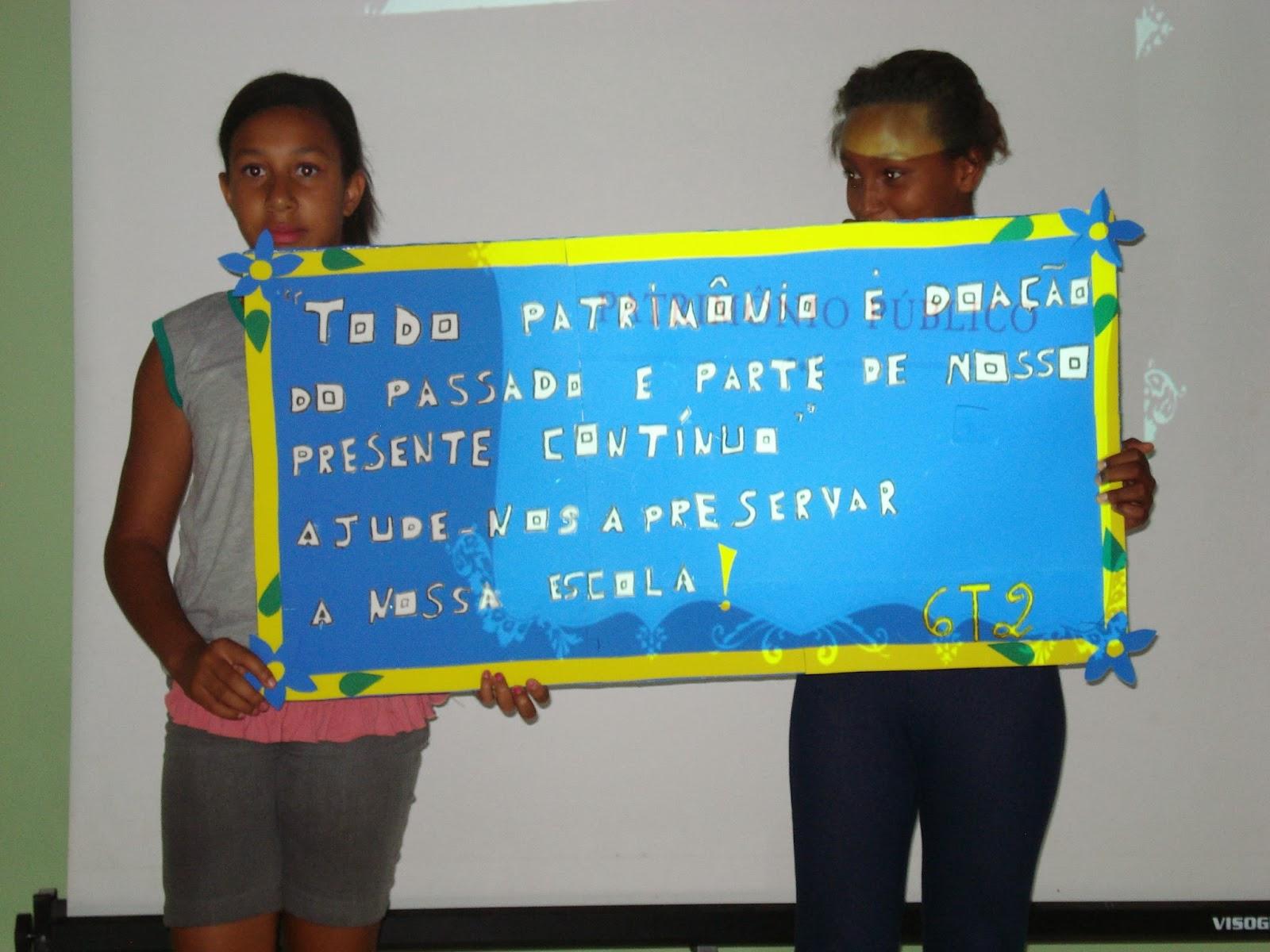 Nossa Escola Dia 0511 Culminância Do Projeto De Conservação Do