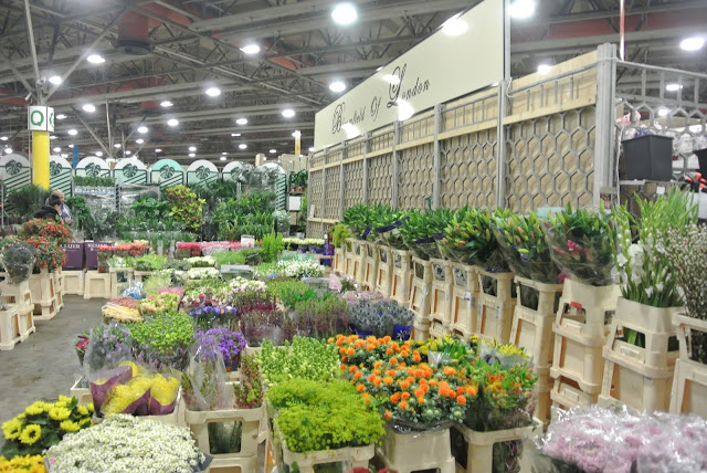 New Covent Garden Flower Market, Bloomfield Wholesale Florsit