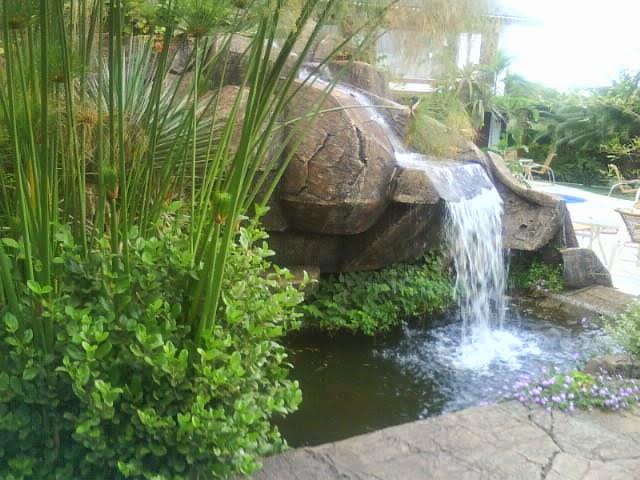 pedras jardim goiania : pedras jardim goiania:Cascata com pedras artificiais -