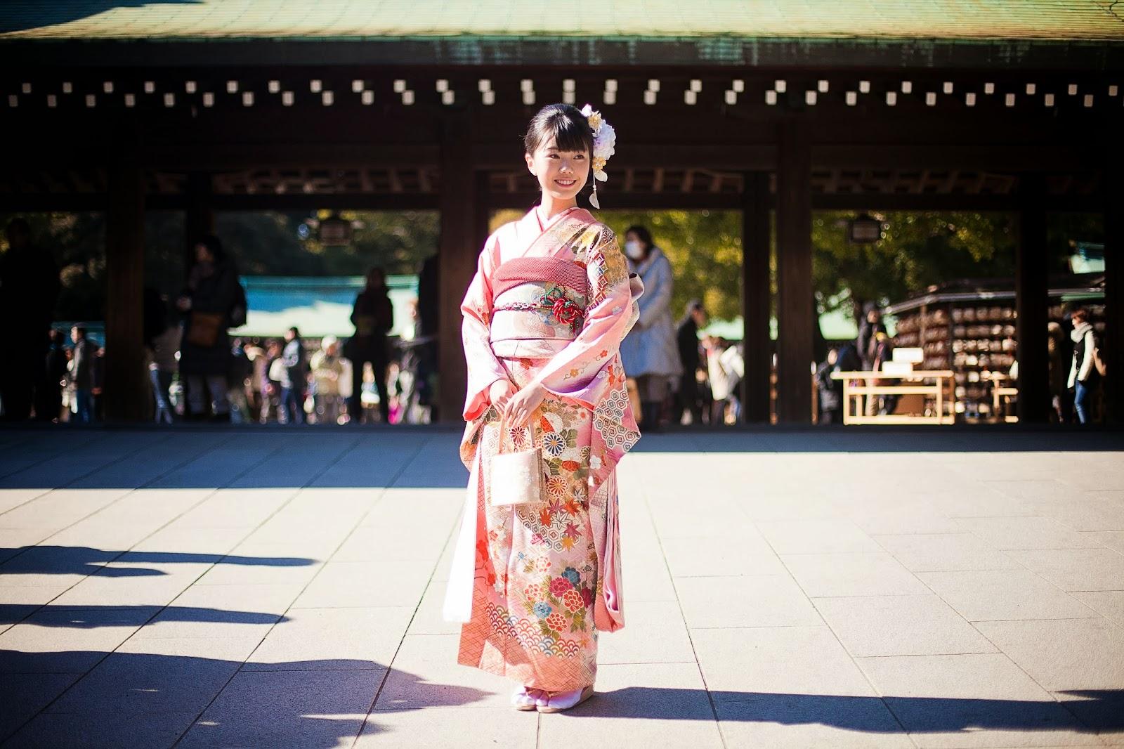 Japonesa en kimono 2