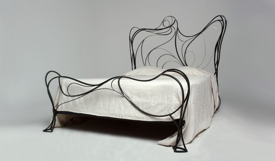 metal chair design.