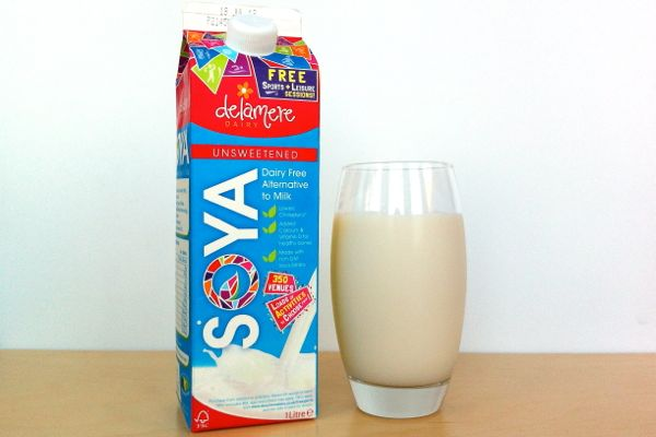 Delamere Dairy Soya Milk - vegan review