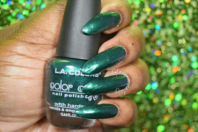 "L.A. Colors Color Craze ""VooDoo"" Swatch"