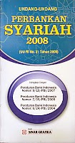 toko buku rahma: buku UU perbankan syariah 2008, penerbit sinar grafika
