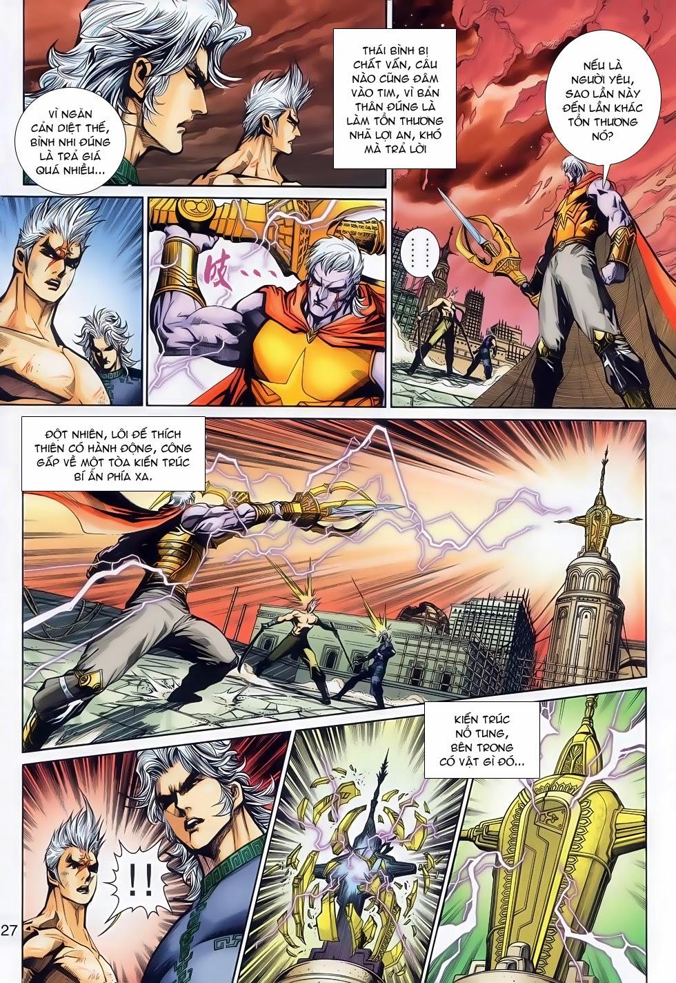 Thần Binh Tiền Truyện 2 chap 21 Trang 26 - Mangak.info